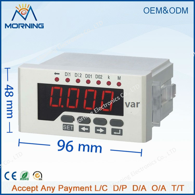 Q51 panel size 48*96 low price and high quality led 1-phase digital power meter, for distribution box high quality and low price 0 25kw special circulating pump for refrigerators