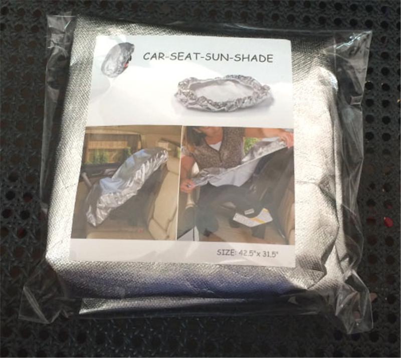 Children \'s car safety seats sun shield dust cover sun block UV block heat (1)