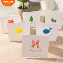 10pcs New Design Hollow-out Greeting Card Christmas Year Gift Mini Postcards Birthday Thank You Cards