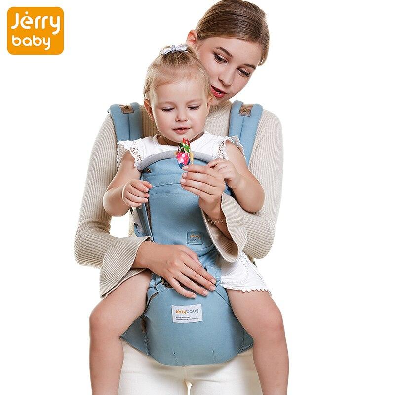 Jerrybaby Popular Baby Backpacks 2-in-1 Baby Carriers, Kangaroos Backpack Hipseat