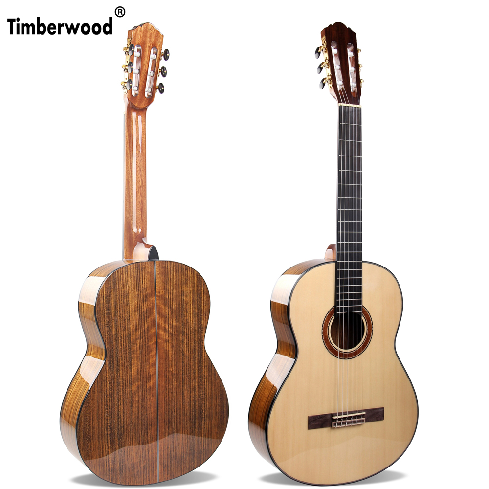 Main 39 pouces Guita Solide Épinette De Sitka Noyer Classique Guitare Acoustique Guitare pour débutant AGT118