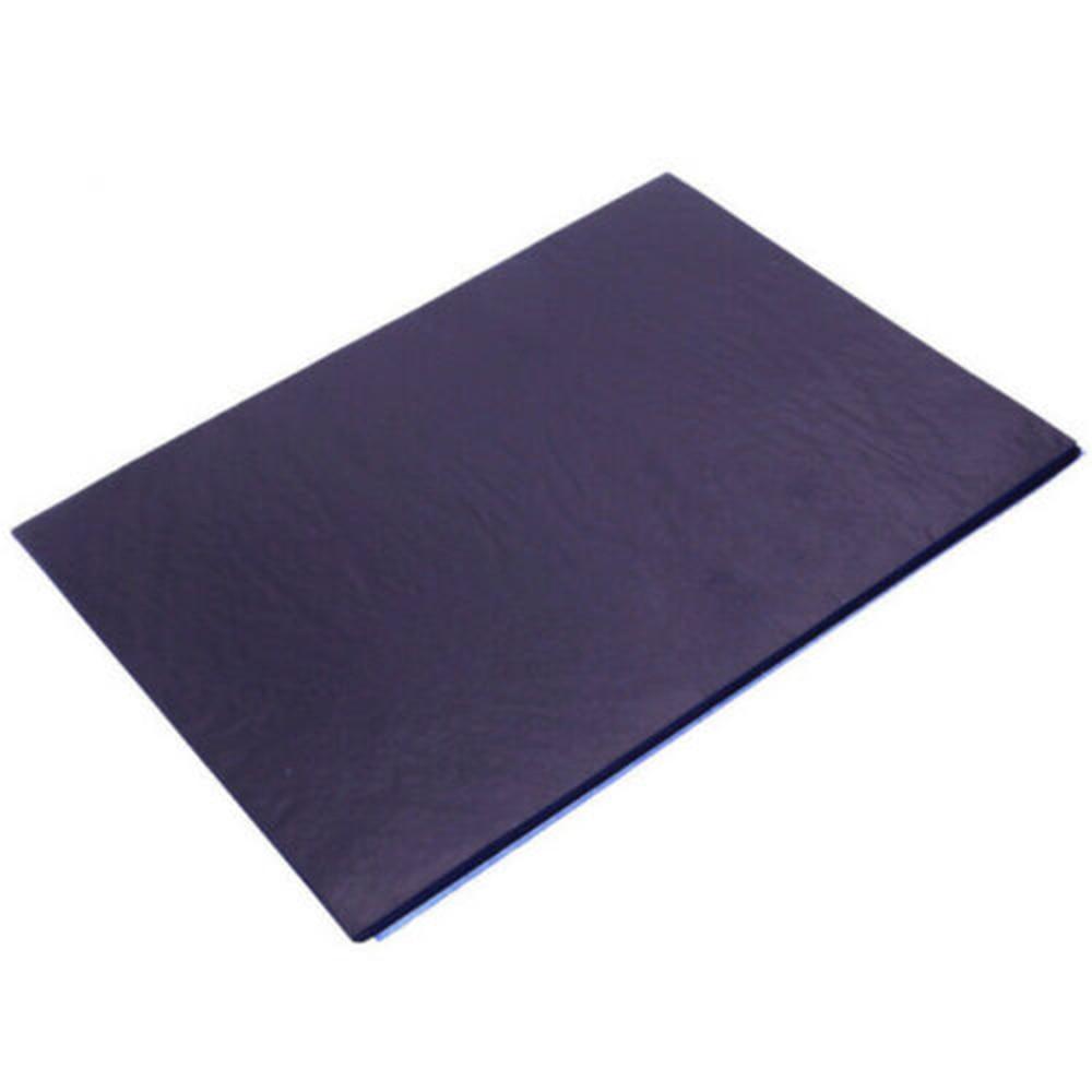 100 Sheets A4 Dark Blue Carbon Hand Stencil Transfer Paper Hectograph Repro Set 25.5*18.5cm