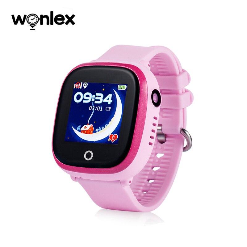 Wonlex GW400X-Wifi Versão de Atualização Inteligente Mobile Phone for Kids Celular SOS Anti-Perdido Posicionamento GPS Tela Sensível Ao Toque de Controle APP