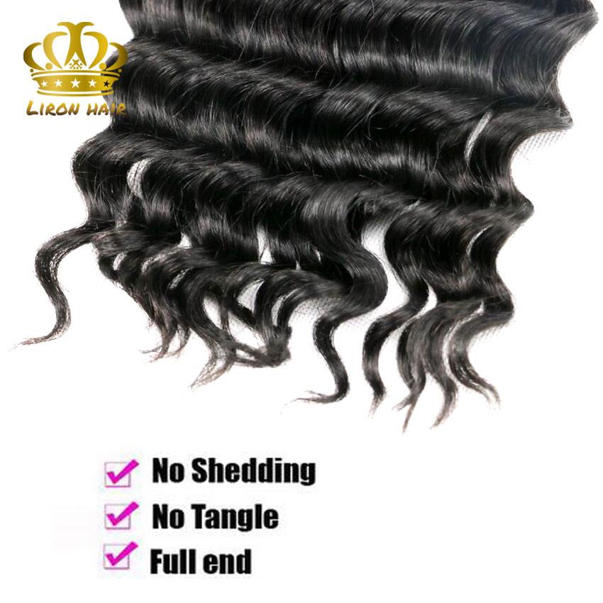 Brazilian Loose Deep Human Hair 3 Bundles Lot Brazilian Loose Deep Wave Virgin Hair Weaves Grade 8A Stema Hair Product More Wavy (7)
