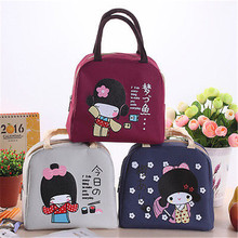 Thermal Cooler Insulated Waterproof Lunch Box Storage Picnic Bag Pouch Portable Cute