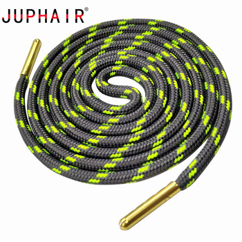 JUPHAIR Metal Head Athletic Sports Round Shoelaces Fit All Sport Running Shoes Shoe Laces Wave Point Striped Polyester Shoelaces наручные часы romanson tl8245mg gd