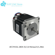 цена на Nema 23  Stepper Motor Two Phase 56mm 1.26Nm 2.8A 1.8deg CNC machine 3D printer