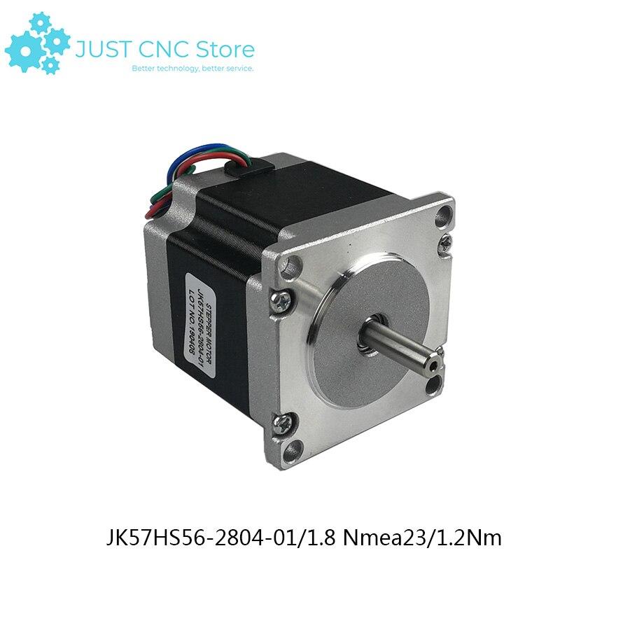 Nema 23 Stepper Motor Two Phase 56mm 1.26Nm 2.8A 1.8deg CNC machine 3D printer