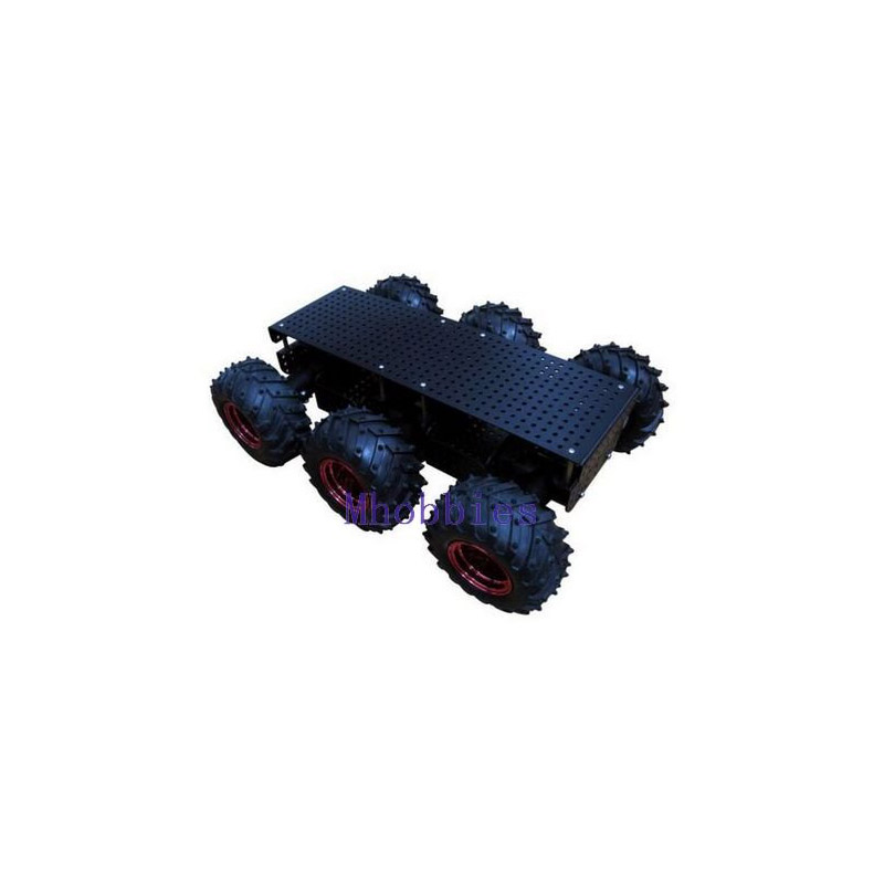 Free shipping All-wheel terrain 6wd robot platform JSR-6WD robot chassis калуга шины bfgoodrich all terrain ta