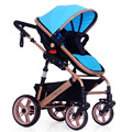 prams Value Baby Stroller Pram Children Pushchair Colour Beige Red Blue Pink Purple Flag