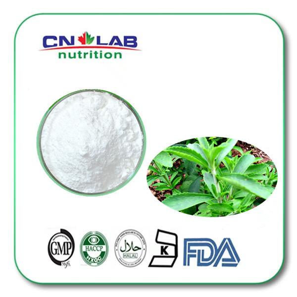 100% puro e natural stevia esteviosídeo granel, adoçante stevia 100g