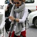 Сплошной цвет Cappa мода марка женщины ручной работы обертывание пашмины палантин сгущает теплая зима осень шаль подарок шарфы lxy135