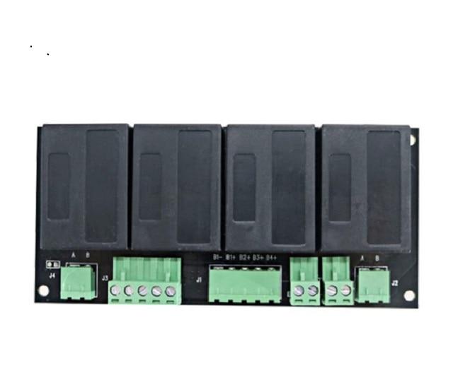 QNBBM 4S active voltage equalizer battery balancer for Lithium LiFePO4 Li ion 18650, LTO,LIMN NCM battery pack