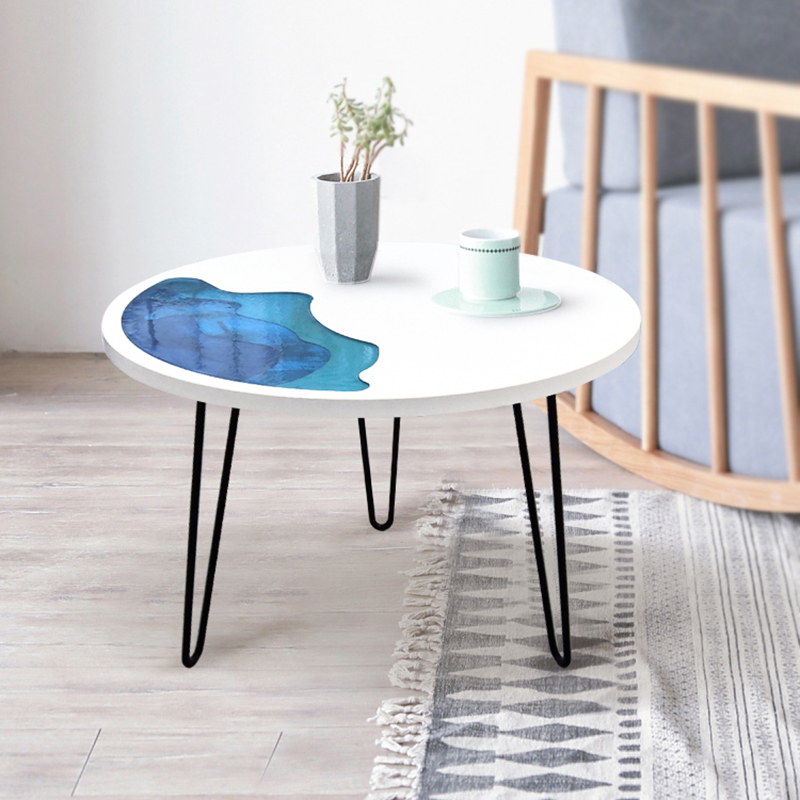 Resin coffe table home Furniture kitchen desk DIY tea tables