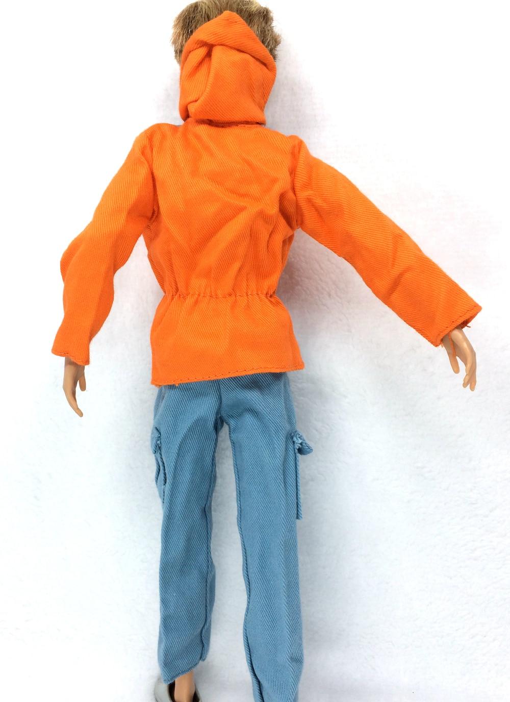 NK Pangeran Pakaian Tempur Seragam Polisi Cop Outfit Untuk Barbie Boy - Boneka dan aksesoris - Foto 3