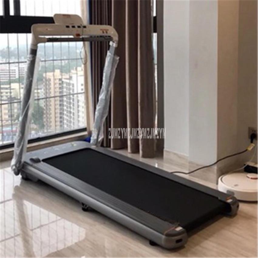 AIR 1250 W 45 cm Largeur Ceinture Tapis Roulant Pliant Électrique Mini Électrique Course à Pied Entraînement Tapis Roulant Ménage équipement de fitness d'intérieur