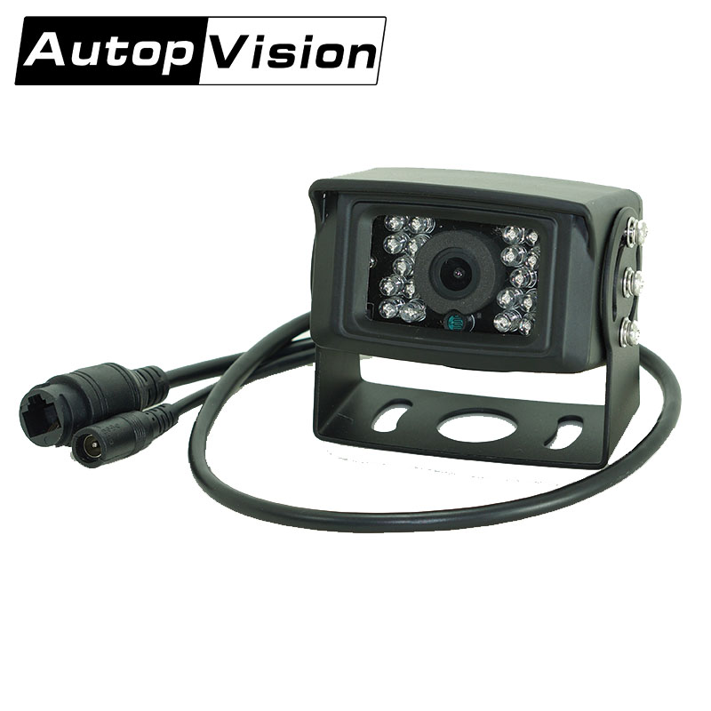 AV-N99 10PCS/lot Vehicle Backup Camera System Rear View Camera Support Night Vision for Bus Truck Van Trailer 4 channel 256g sd car vehicle dvr mdvr video recorder kit cctv rear view camera dome camera for truck van bus free shipping