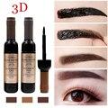 Nova Marca Kit Sobrancelha Maquiagem Cosméticos À Prova D' Água fácil de Usar Natural Pigmento Marrom Café Henna Sobrancelha Realçadores Gel