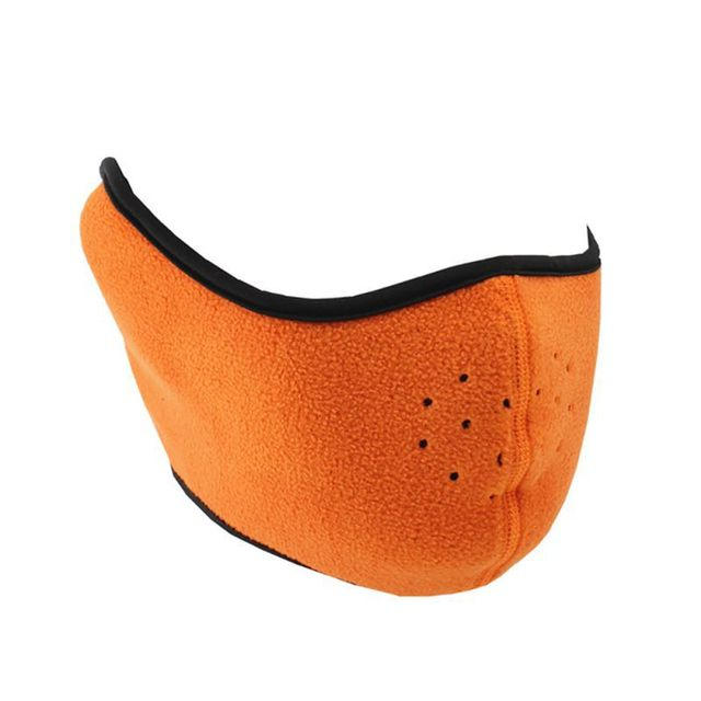 Cycling Half Face Mask Winter Windproof Breathable Thermal Mouth Masks Protection Outdoor Skiing Running Sport Mask