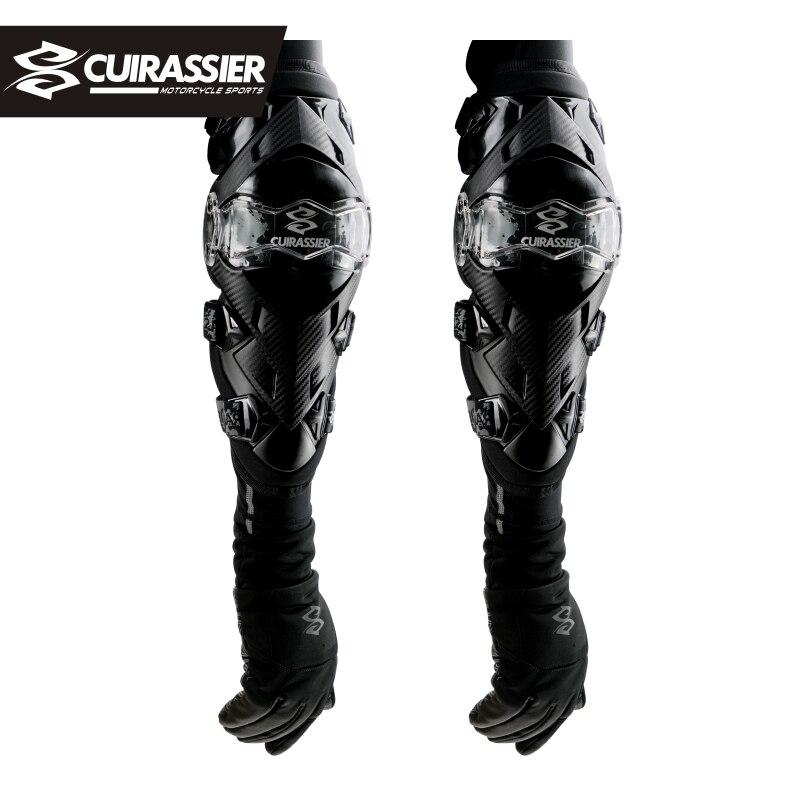 CUIRASSIER Motorcycle Knee Pads Motocross Protector MX Motorbike Kneepad Elbowpad Protective Gears MTB ATV Brace Protection