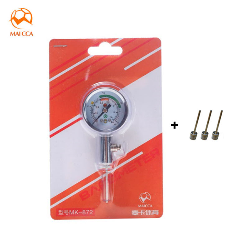 MAICCA Barometer For Basketball Football Volleyball Sports Referee Watch Balls Pressure Gauges Ball Gas Measuring Instruments