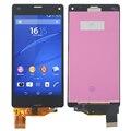 """4.3 """"Испытано Черный Для Sony Xperia Z3 Mini Compact D5803 D5833 ЖК-Дисплей с Сенсорным Экраном с Планшета Ассамблеи бесплатная доставка"""