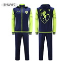 BHWYFC Survetement Football 2017 French Tracksuit Italia Training Sporting Suit Tracksuit Kits Men/Women 2017 Plus Size XXXXL