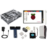 Elecrow Starter Kit For Raspberry Pi 3 Model B 3 5 Touch Screen WiFi 150Mbps 11n