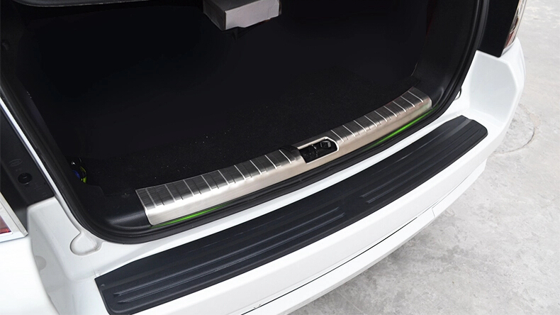 Auto rear bumper protector trim interior and for Freelander 2,stainless steel,auto accessories