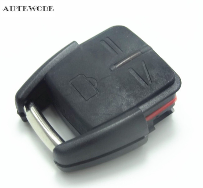 AUTEWODE 3 buttons New Replacement Car Remoten KEY Case Cover For Opel Vauxhall Astra Vectra Zafira 1pc auto parts
