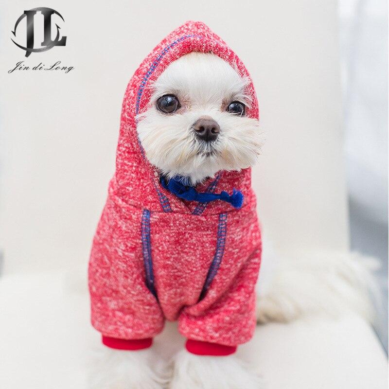 №* 2018 otoño nuevo suéter del animal doméstico 100% algodón ...