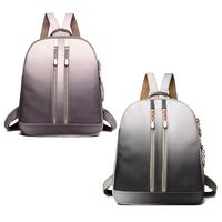 THINKTHENDO Women Girl Backpack Travel PU Leather Rucksack Shoulder School Book Bags for Teenage Girls 2018