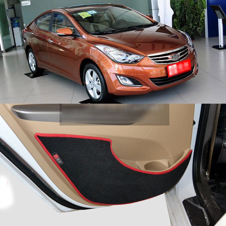 Inside Door Anti Scratch Protection Cover Protective Pad For Hyundai New Elantra