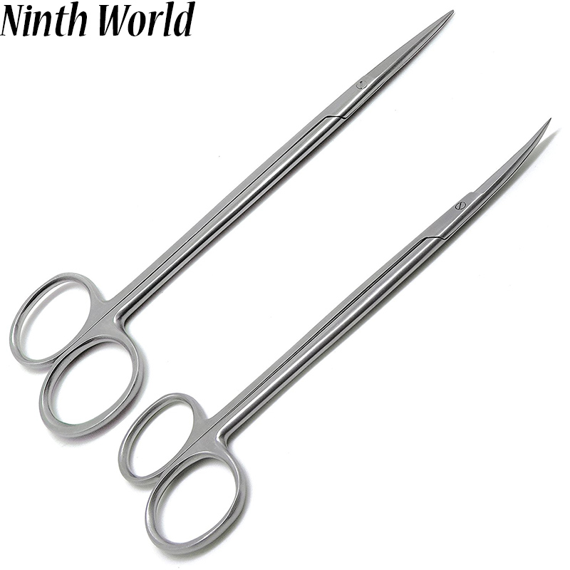 stainless steel Straight and Curved Hemostatic Forceps Stainless Steel Pet Fishing Forceps Medical Dental Surgical Scissors medical orthopedics instrument stainless steel linkage rod clamp forceps pedicle screw fixation system pliers
