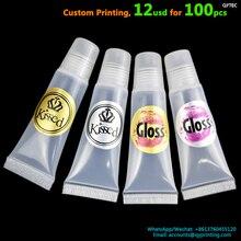 100 adet 35mm özel baskı el yapımı altın gümüş vinil PVC teşekkür ederim çıkartmalar hediye düğün marka logosu conta etiket yapıştırıcı etiketleri