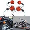 Papanda Motorcycle Chrome Voor En Achter Richtingaanwijzer Voor Honda Shadow 400 750 VT750 04-07
