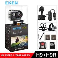 EKEN H9 H9R Original Action Camera Ultra HD 4K 25fps 1080P 60fps WiFi 2 0 170D