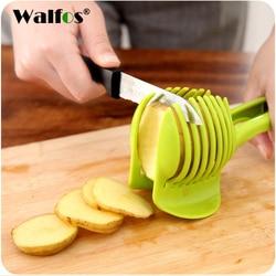 WALFOS Multifunctional Fruit Vegetable Slicer Lemon Tomato Slice Kitchen accessories Cooking Device Creative Kitchen gadget Tool