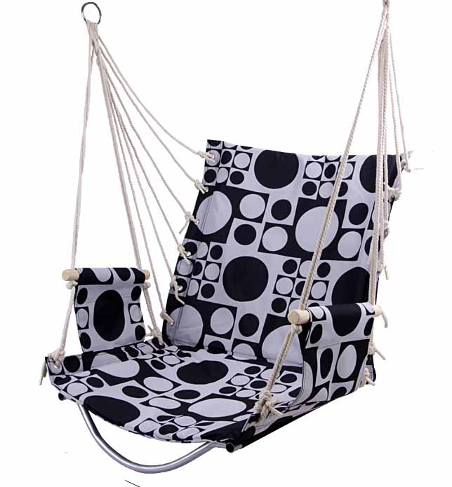 Ourdoor Garden Patio Swing Chair Big Hanging Chair Seat Hammock Kids Balcony Swing Chair Children Rocking Chair Patio Furniture