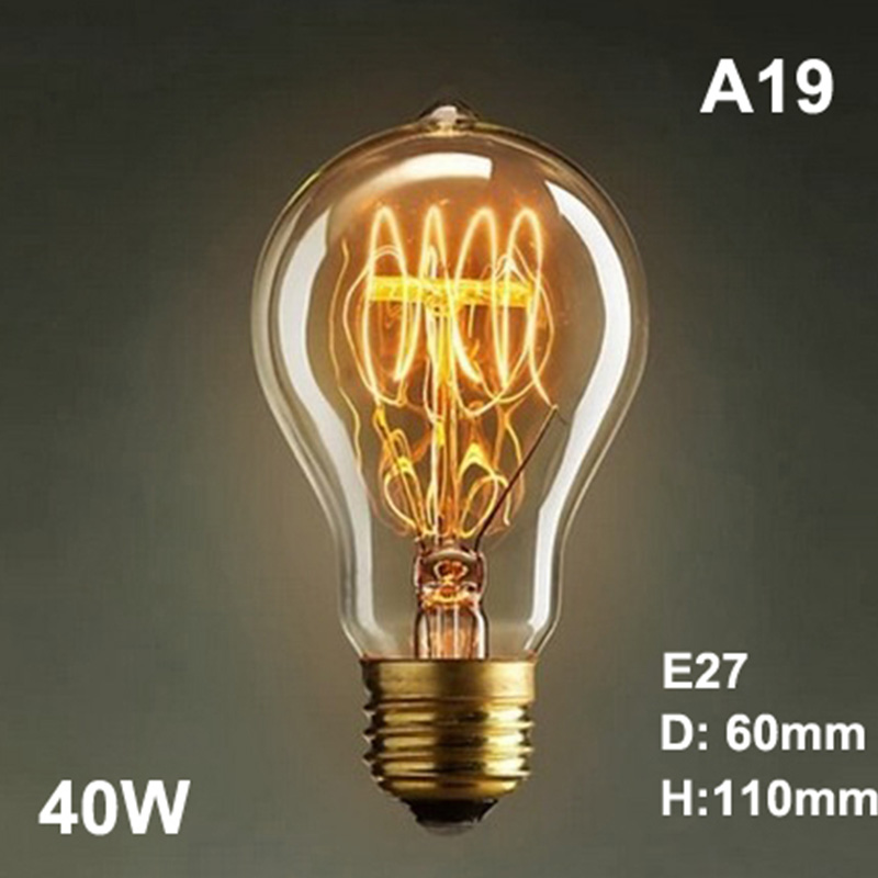High Quality Edison Vintage LED Bulbs Industrial Filament Lightbulb Lamp Amber