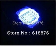 Светодиодная лампа Королевского синего цвета, 5 шт., 10 Вт, 45 мл, 450 нм, 55 нм, 10 Вт