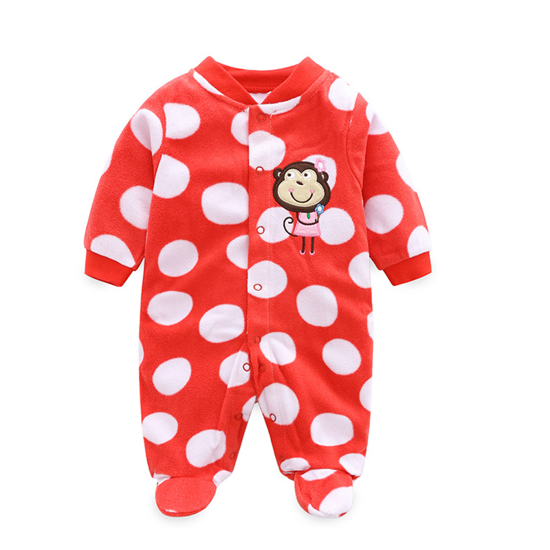 6fedd254d 2017 Newborn Baby Clothes Polar Fleece Infant Baby Rompers Boy and ...