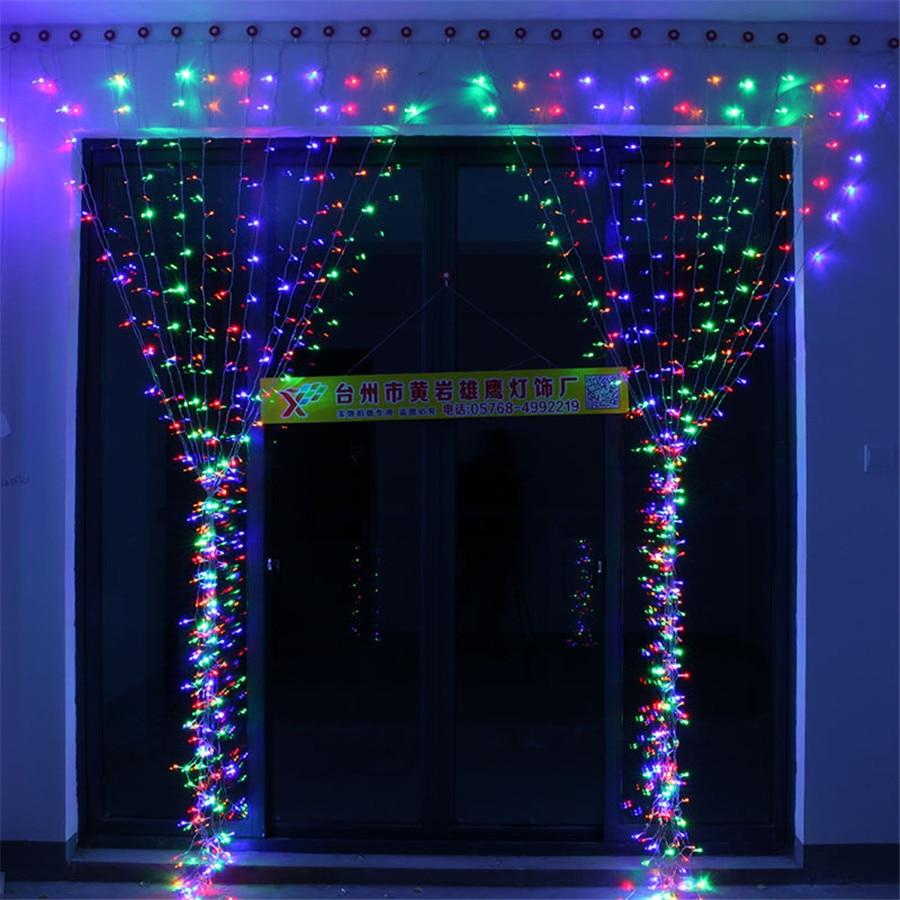 de LED luz da corda Ao Ar