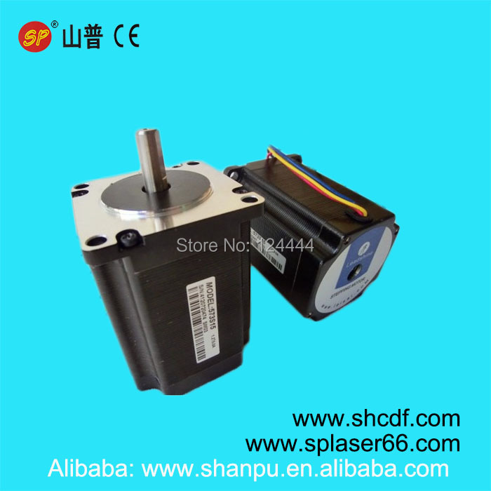 High quality 3 phase laser step motor 573s15 for co2 laser cutting and engraving machine цены