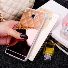 THREE-DIAO Luxury Mirror TPU Cases for Samsung Galaxy A3 A5 J3 J5 2016 2017 S3 S4 S5