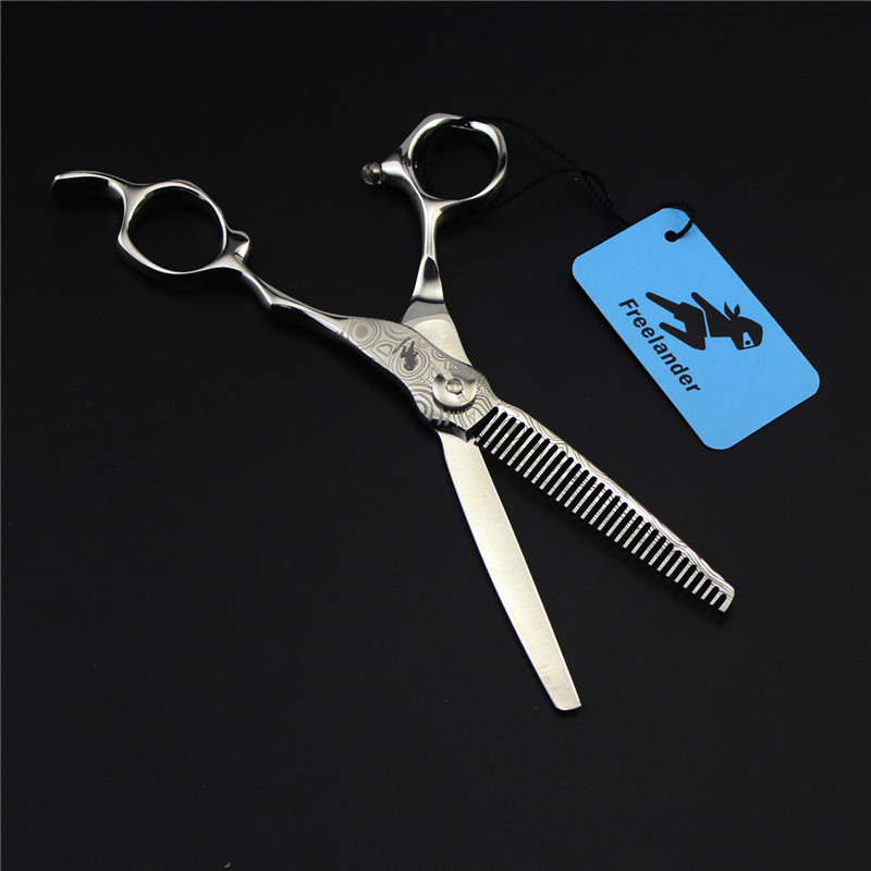 6 zoll damaskus friseur schere haare schneiden und effilierschere