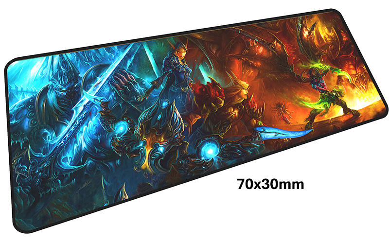Illidan mousepad gamer 700x300X3MM gaming mouse pad large Mass pattern notebook pc accessories laptop padmouse ergonomic mat