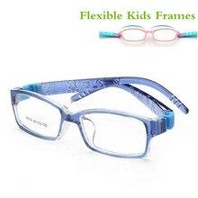 Небьющиеся гибкие безопасные оптические очки для близорукости, оправа для очков, детские оправы TR90, оправа для очков для детей, новорожденных девочек 8819
