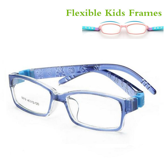 Incassable Flexible Sûr Myopie Optique Lunettes Cadre Lunettes Enfants  Cadres TR90 MONTURE De Lunettes pour enfants ef02243b419a