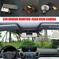 Visão CCD HD Noite Visão Traseira Do Carro Vista de Backup Parque Câmera + 5 polegadas Tela colorida de LCD Monitor de Espelho de Carro Para Toyota ist/Urban Cruiser